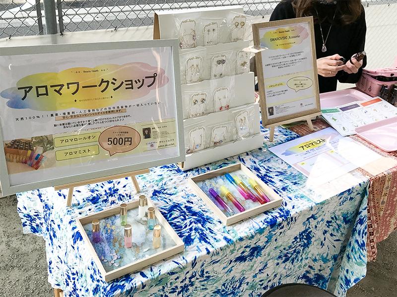 イベントの様子:マドレの庭 10th マルシェ(新装10周年記念イベント)