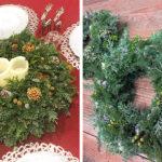 クリスマスリースワークショップ|Flower Design Studio KOMUGI